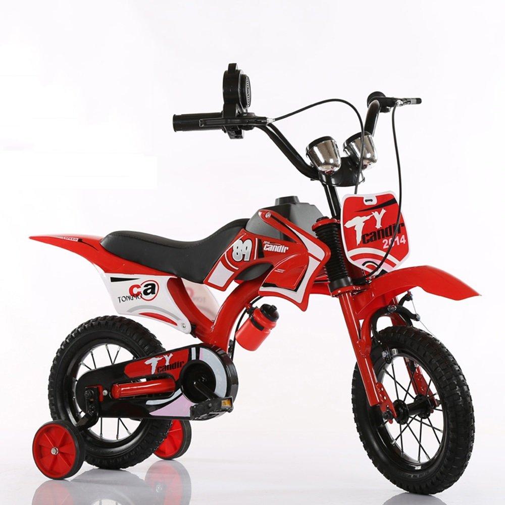 子供の自転車2-8歳の子供の自転車12/14/16/18インチの男性のベビーカー ( 色 : Red-B , サイズ さいず : 16 inch ) B07CNBGNVN 16 inch Red-B Red-B 16 inch
