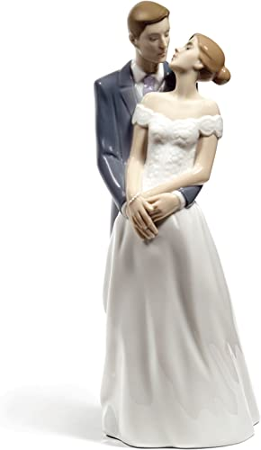 NAO Unforgettable Day. Porcelain Bride and Groom Wedding Figure.