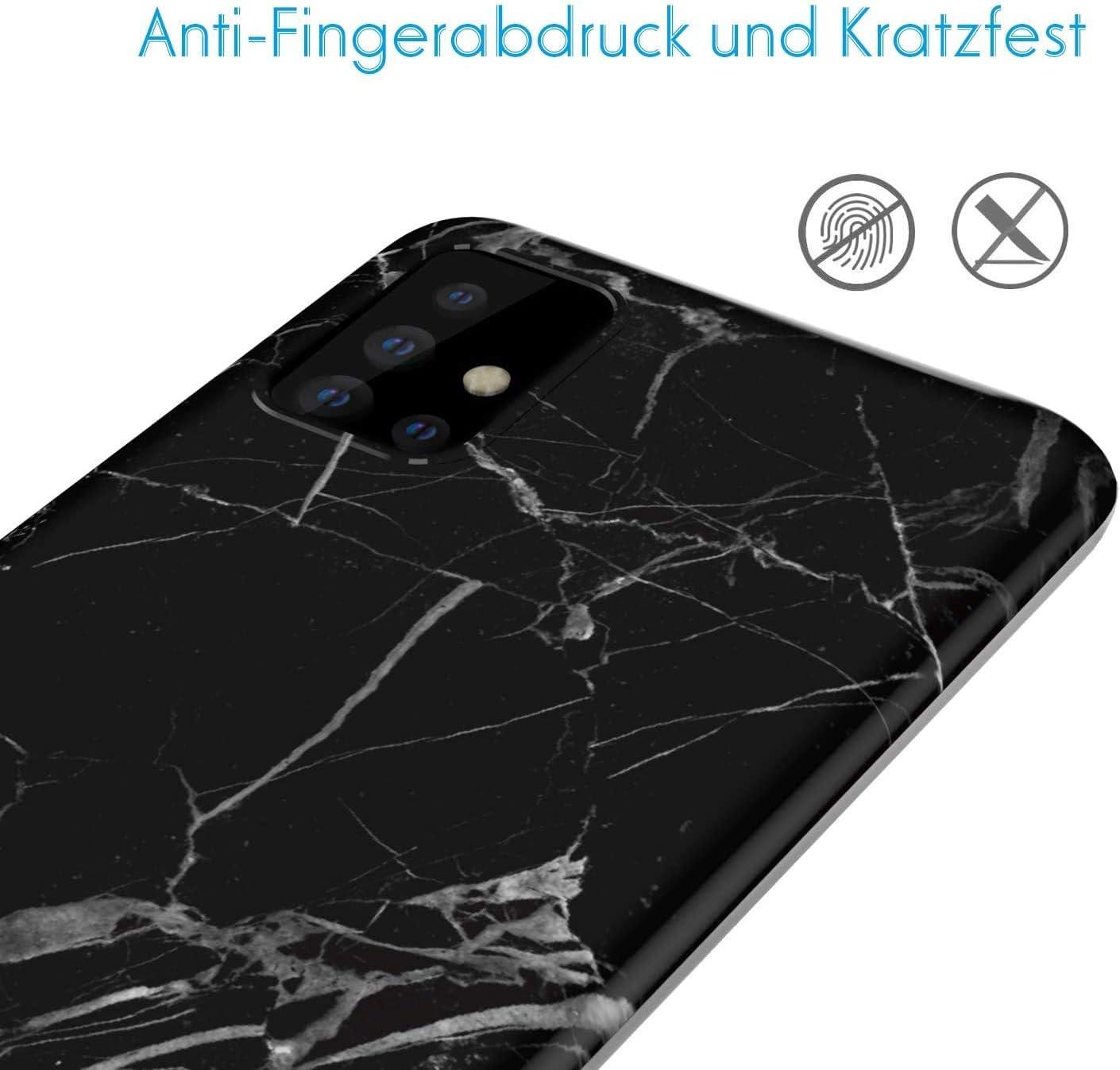 con motivo marmo opaco VoguSaNa Custodia morbida in TPU per Samsung Galaxy A71