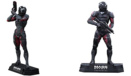 Amazon Com Mcfarlane Toys Mass Effect Andromeda Sara And Scott