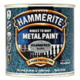ICI Hammerite 5092957 750ml HM Hammered Metal Paint - Silver