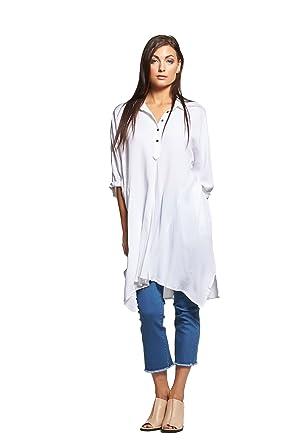 59e5d3c7c49 Oversized Shirt Dress at Amazon Women s Clothing store