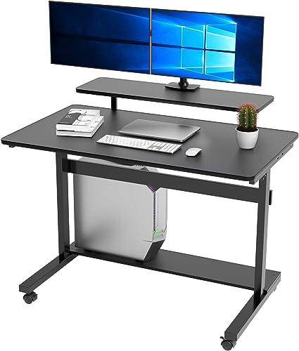 Best modern office desk: DESIGNA Height Adjustable Standing Desk