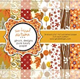 Gina K. Designs 6 X 6 Patterned Paper Pack - Sun-kissed Autumn