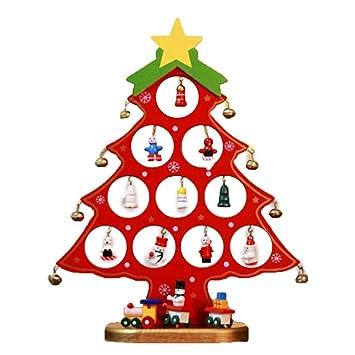 Amazon De Eiseyen Mini Weihnachtsbaum Weihnachten Dekoration