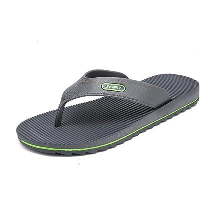 82d429487dce Damon Men s Comfortable Flip-Flops Thongs Sandals Beach Slippers Flip-Flops  Casual Wind New