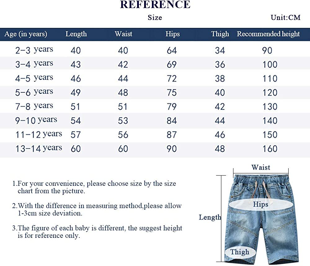 Drawstring Waistband Boys Jeans Denim Pants Straight Fit Denim Pants for Kids Blue