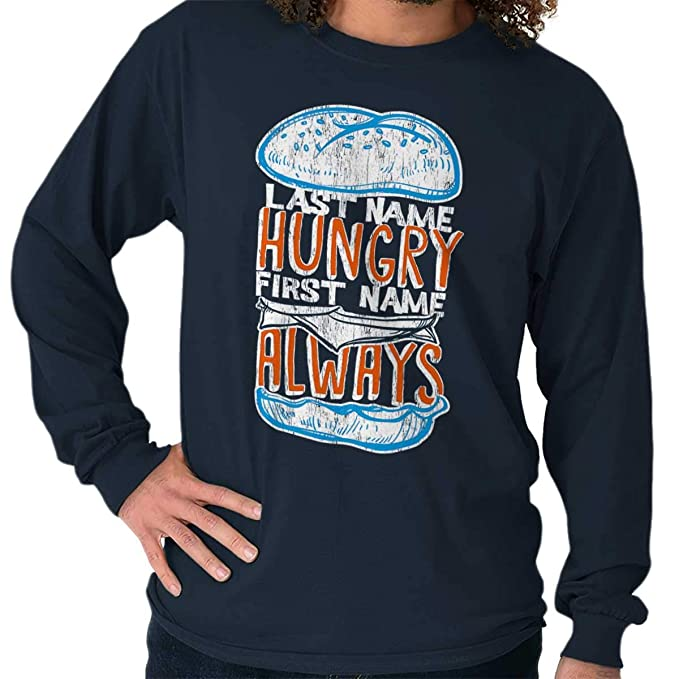 Amazon.com: Last Name Hungry First Name Always Drake Long ...