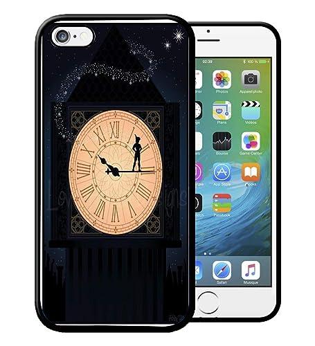 Coque iPhone 4S 5S SE 5C 6S 7 8 Plus X XS MAX XR Peter Pan c ...