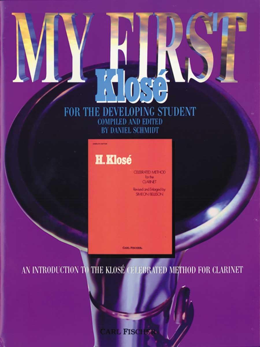 O5494 - My First Klose: Clarinet PDF ePub fb2 ebook