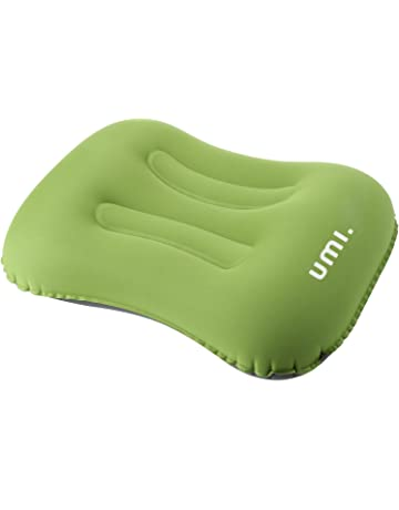 UMI. Essentials - Almohada de Camping Inflable Ultraligera con Bolsa de Transporte