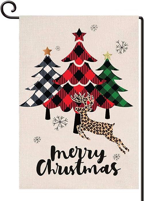 Top 10 Christmas Tree Garden Flags 12 X 18 Prime