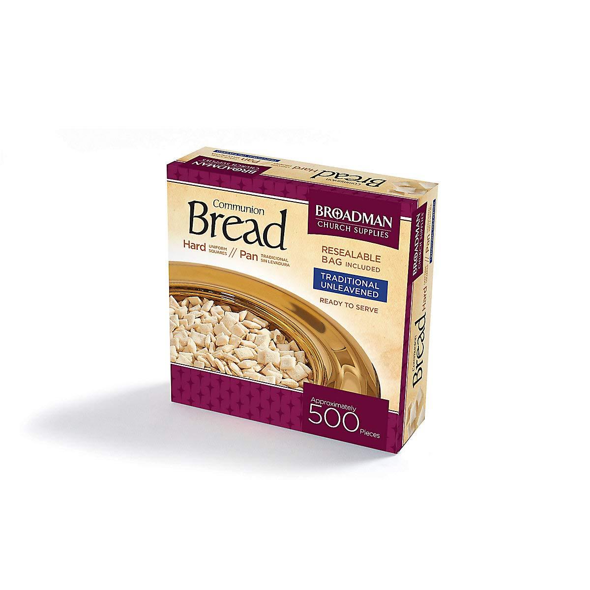 Broadman Church Supplies Communion Bread, 500 Count