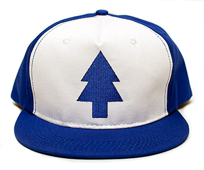Image Unavailable. Image not available for. Color  Dipper Flat Hat Blue  Pine Tree ... 305c9679724
