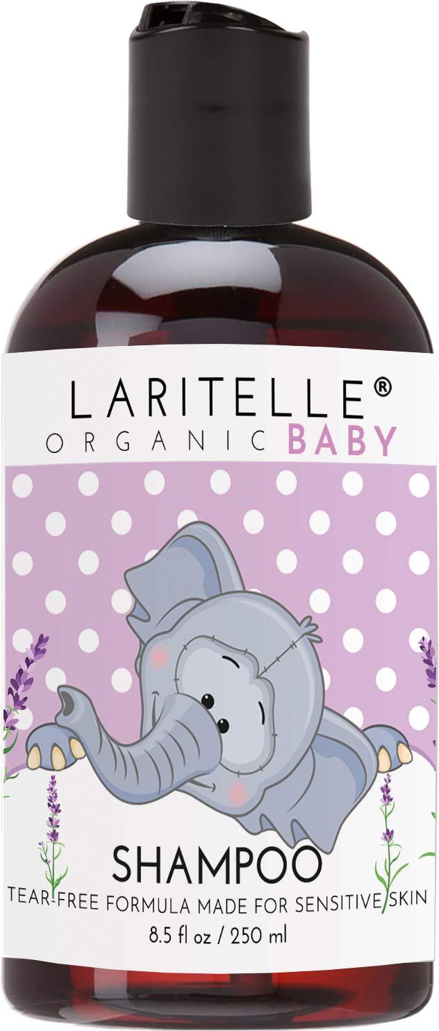 Laritelle Organic Unscented Baby Shampoo 8.5 oz