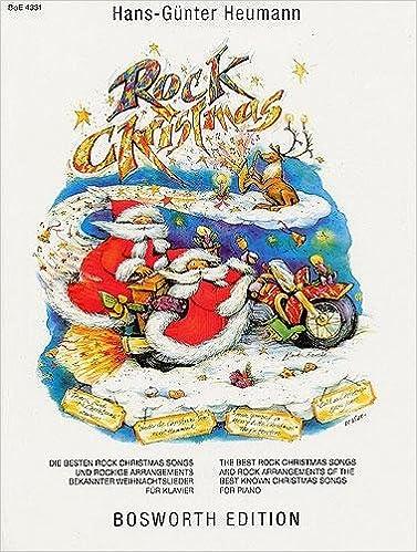 heumann rock christmas piano solo amazoncouk hans gnter heumann 9783936026214 books - Best Rock Christmas Songs