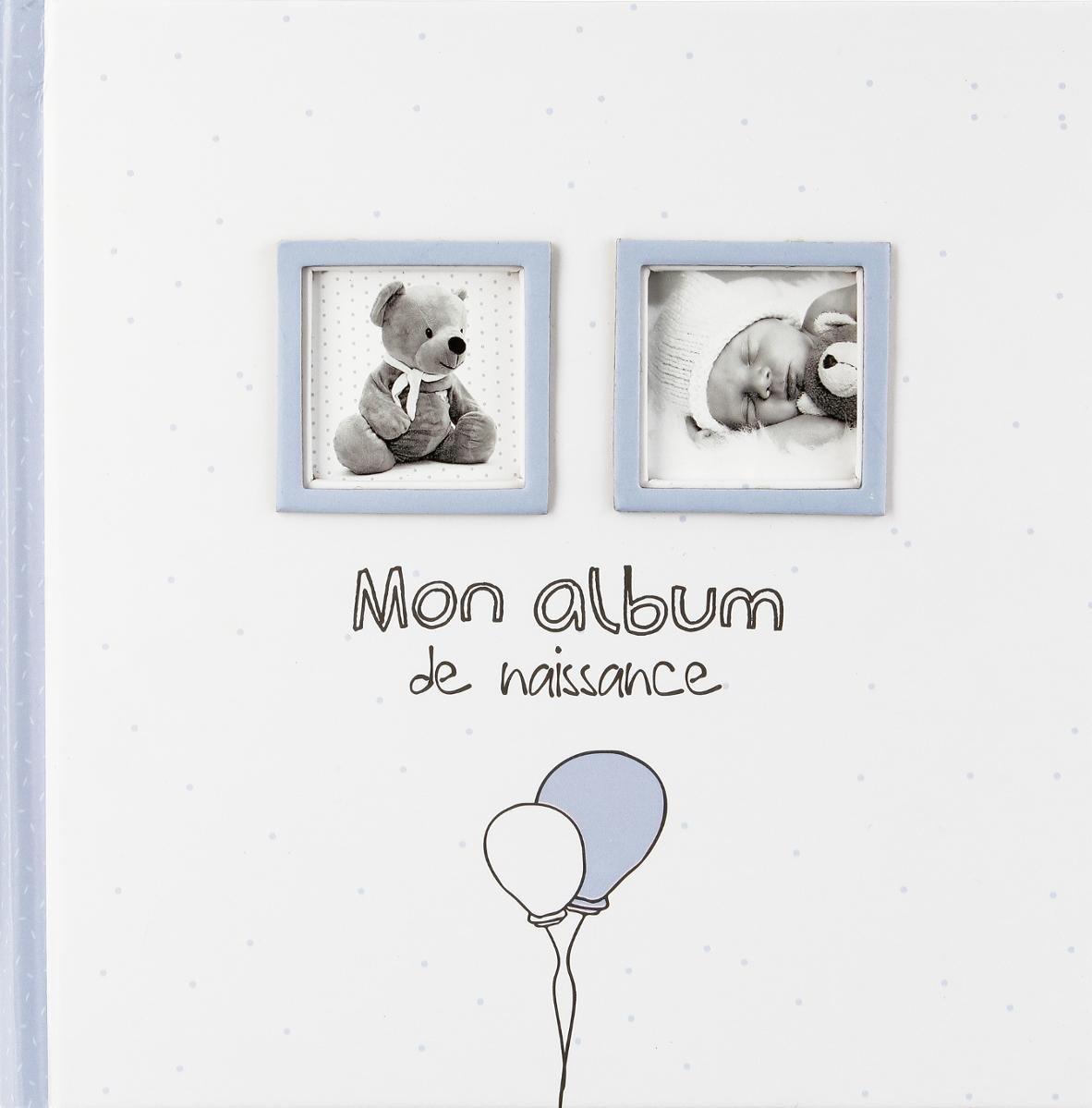 Color AZUL Mi /álbum de nacimiento Ni/ño