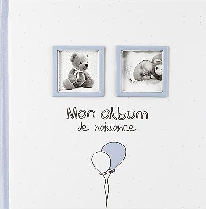 Mon Album De Naissance Garcon Coloris Bleu