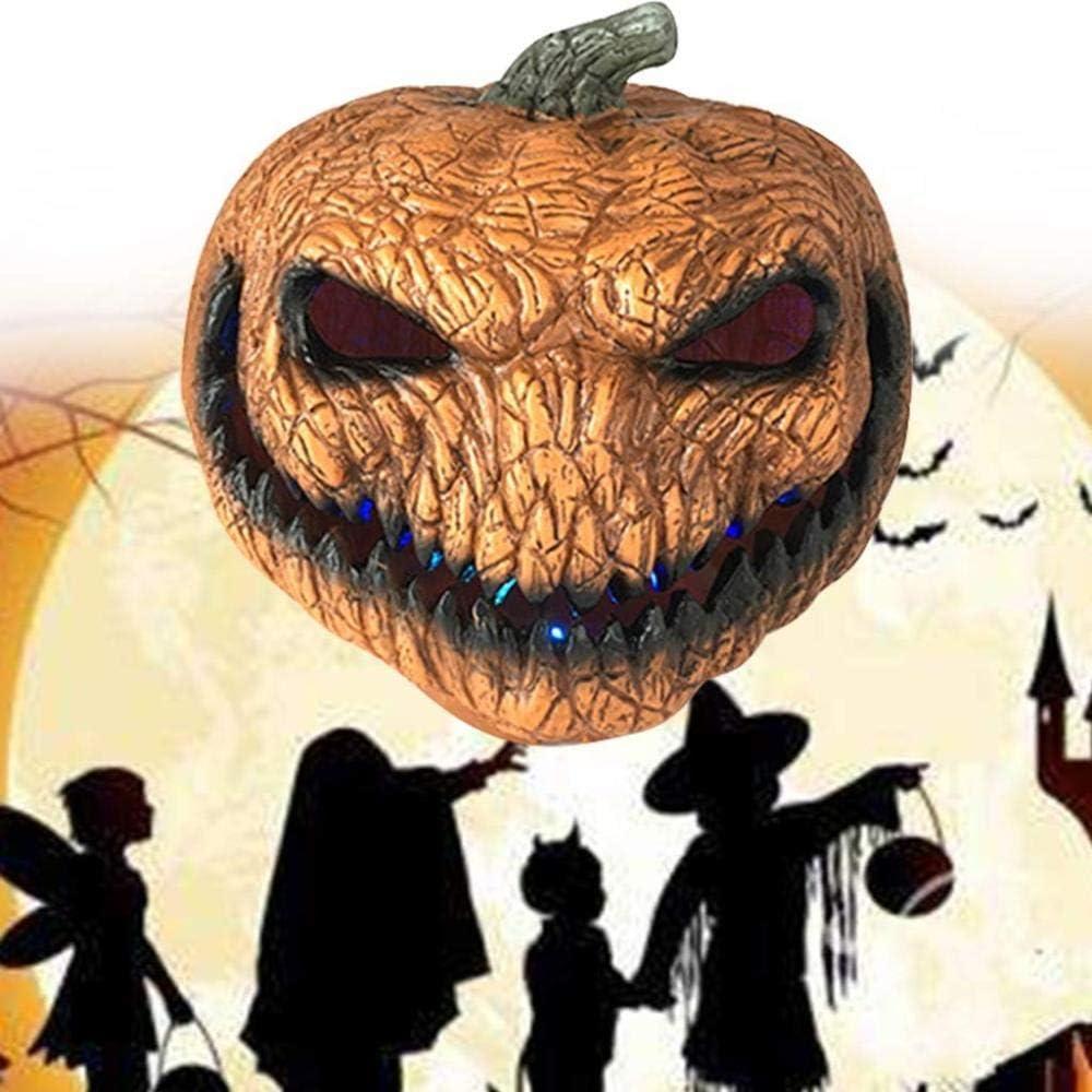 ruer Parti Citrouille Lumi/ères Lampe De Citrouille//D/écoration De La Maison Lanterne Dr/ôle//Habiller Les Accessoires Fant/ômes//Atmosph/ère /év/énement Costume dhalloween