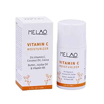 Vitamin C Moisturizer, Leegoal Facial Anti Aging&Wrinkle Reducing Cream With 5% Vitamin C,