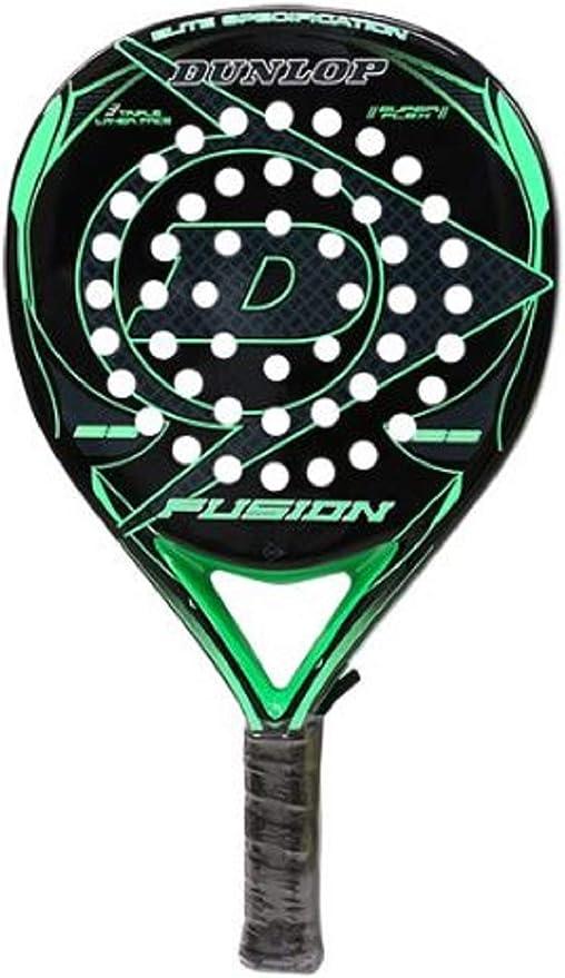 DUNLOP Padel Pala Fusion Elite Green 355grs 38mm: Amazon.es ...
