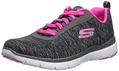 5e5f576558d Amazon.com | Skechers Women's Flex Appeal 3.0-insiders Sneaker | Shoes