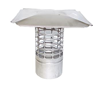 The Forever Cap CCSS12R 12-Inch Stainless Steel Slip in Round Chimney Cap  sc 1 st  Amazon.com & The Forever Cap CCSS12R 12-Inch Stainless Steel Slip in Round ...