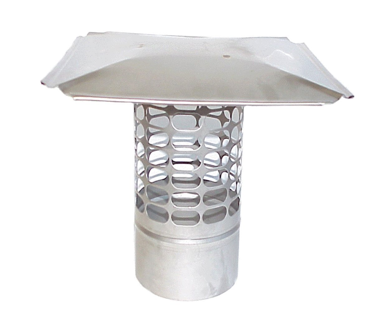 The Forever Cap CCSS3R 3-Inch Stainless Steel Slip In Round Chimney Cap