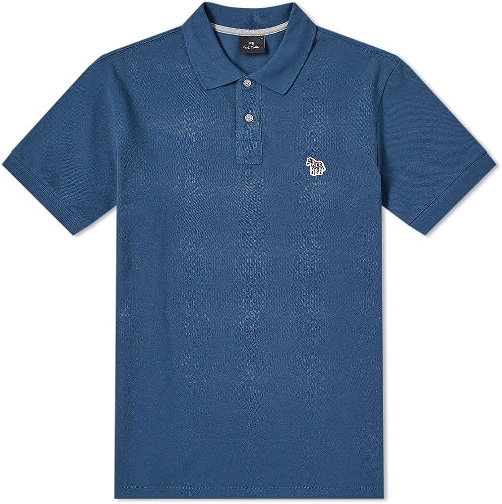 Paul Smith - Polo con Logo de Cebra, Color Azul Azul Azul S ...