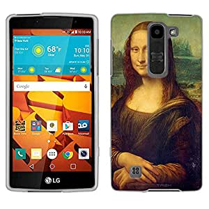 LG Magna Case, Snap On Cover by Trek Leonardo da Vinci Mona Lisa Case