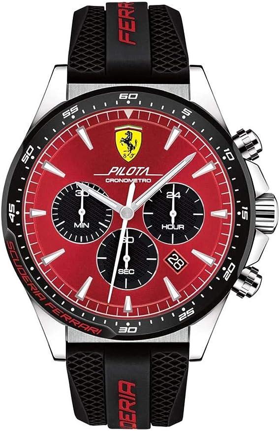 Scuderia Ferrari Wristwatch 830595 Amazon De Uhren
