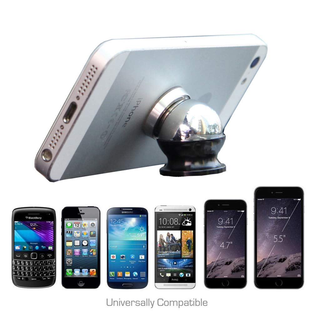 Cradle Mount Kit for Mobile Cell Phone Nochoice Magnetic Car Phone Holder 2 Magnets + 2 Balls