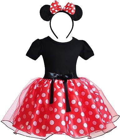 Bebé Niña Vestido de Fiesta Princesa Disfraces Tutú Ballet Lunares ...