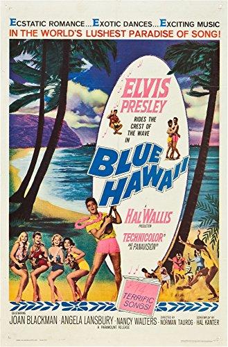 Elvis Movie Poster (Blue Hawaii Elvis Presley 1961 Movie Poster Masterprint (11 x 17))