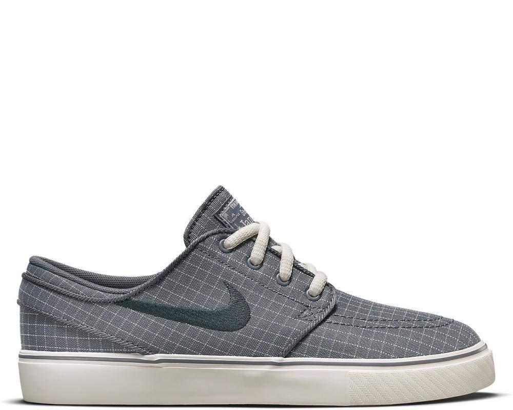 Nike SB Stefan Janoski Premium Canvas,Grey,5.5 M US Big Kid