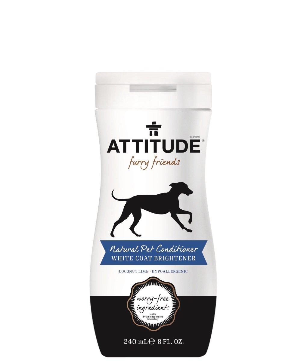 Attitude Pet Conditioner White Coat Brightener 8 fl oz