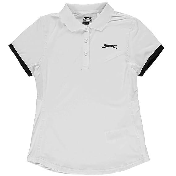 Slazenger Niñas Court Camiseta Polo: Amazon.es: Ropa y accesorios