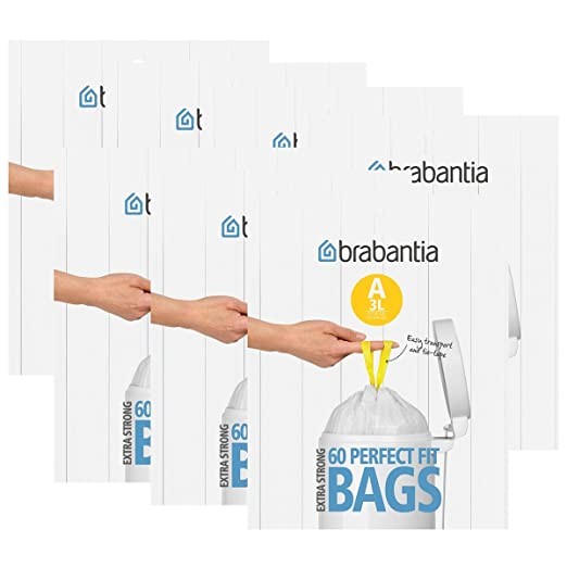Brabantia dispensador de bolsas de basura del paquete (a) 3 ...
