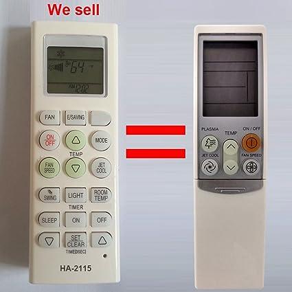 amazon com ha 2115 replacement lg air conditioner remote control rh amazon com LG Washer LG Surround Sound Systems Manual
