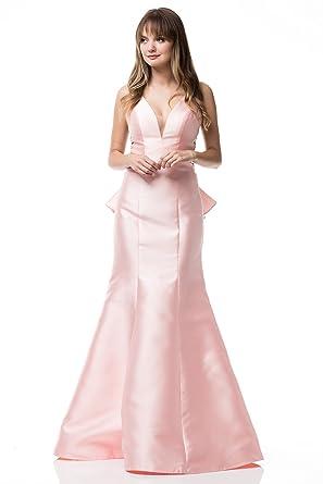 4fc03e4a5dfd BICICI & COTY Womens Mermaid Prom Dress Peach at Amazon Women's Clothing  store: