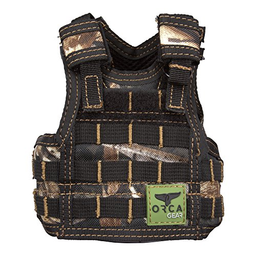 ORCA Gear Mini Tac Vest Koozie Cooler, Real Tree Max 5 by ORCA Coolers