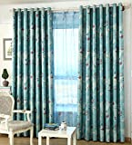 ZWB Room Darkening Window Treatment Kids Children Room Grommet Top Blackout Curtains Thermal Insulated Nautical Vessel Rudder Panel for Children Boys Bedroom Living Room 1 Panel W52 x L84 Inch