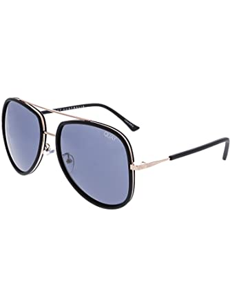 29515326d4 Quay Australia NEEDING FAME Women s Sunglasses Bold Aviator - Black Smoke
