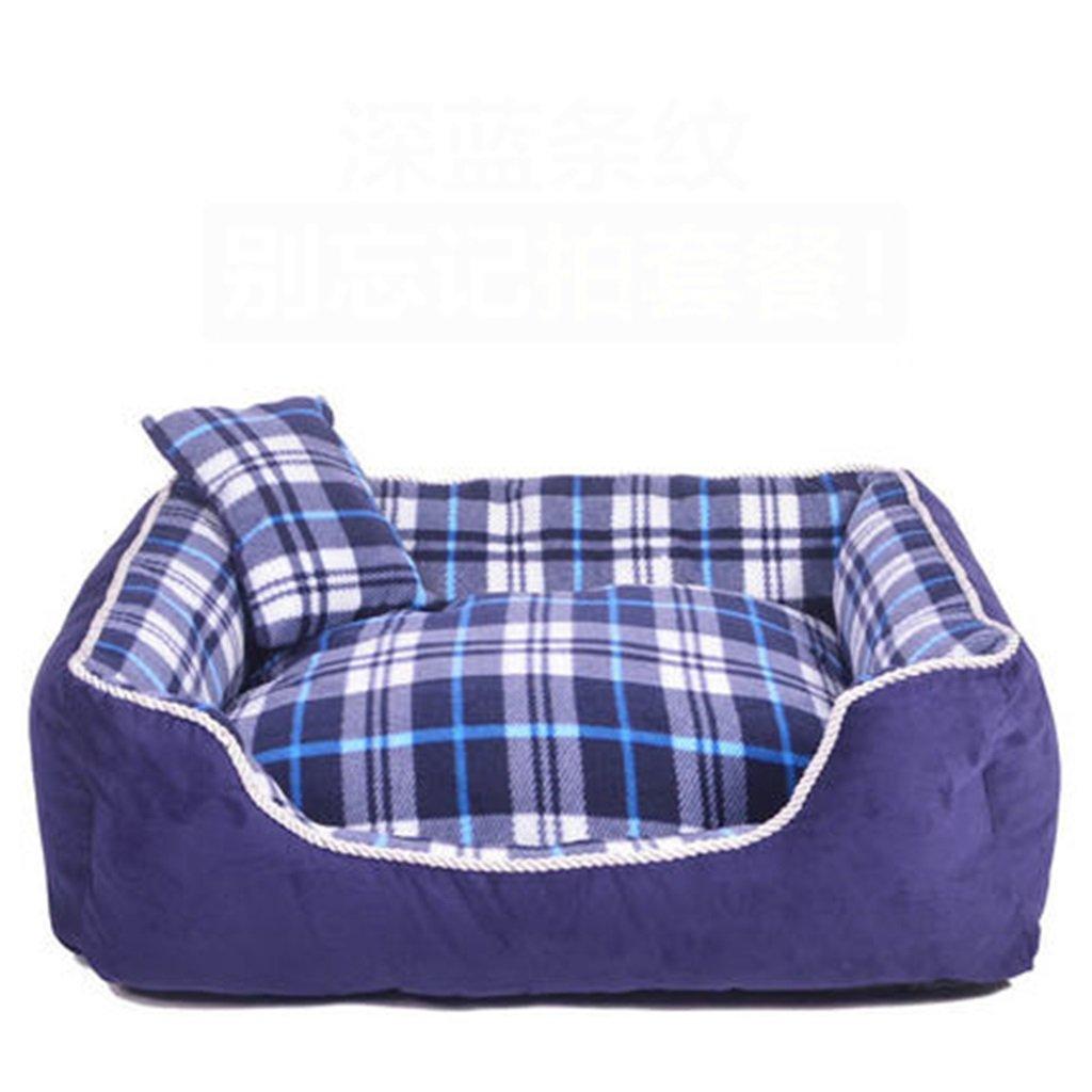 Cama Perro Perro de Mascota para Perros Casa para Perros Casa de Dormir Bolso cómodo Suave Mantener cálido Otoño e Invierno (Color : 2, Tamaño : XL)