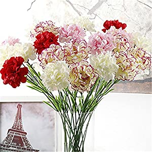 JJH 10 Branch Others Plants Tabletop Flower Artificial Flowers Home Decoration Wedding 88