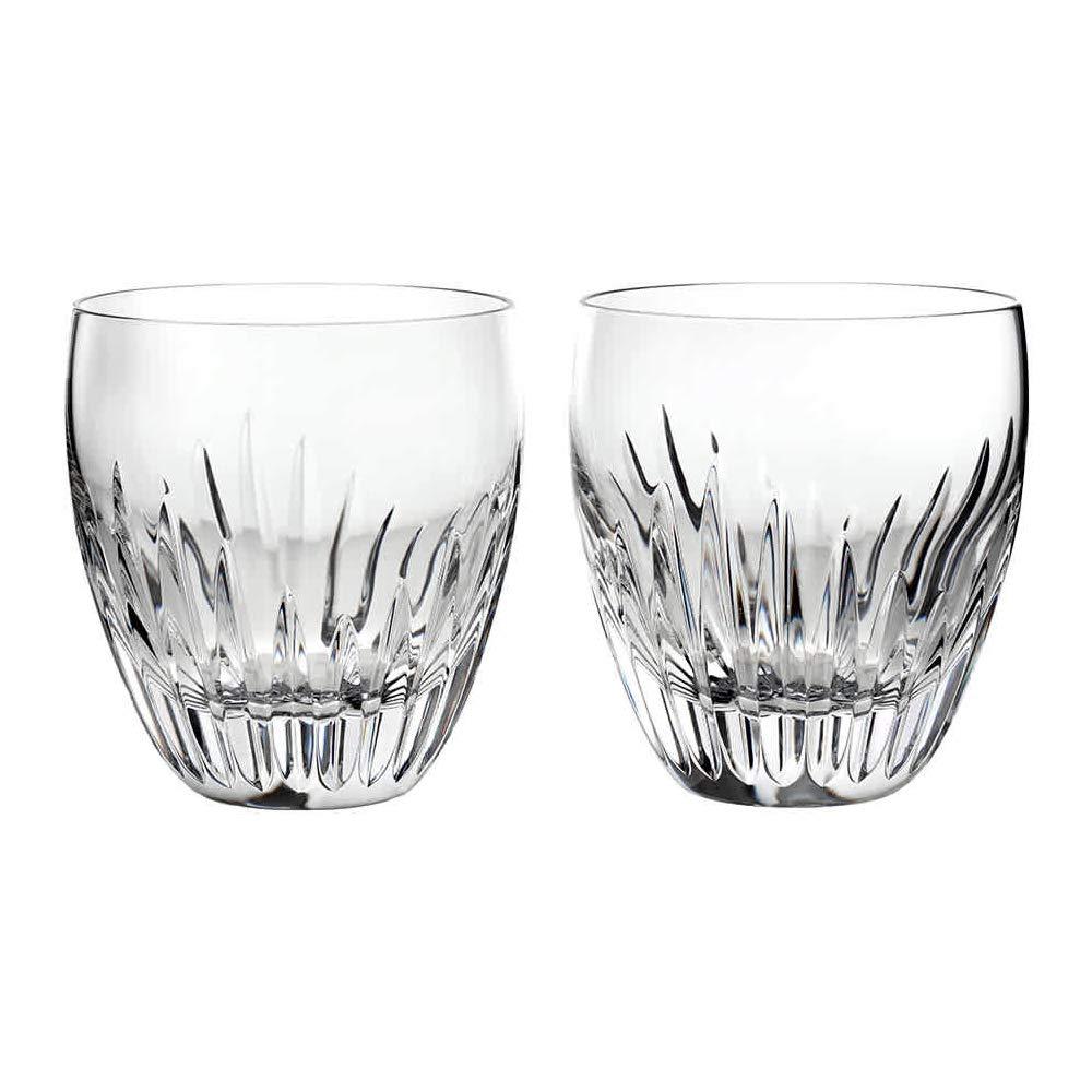 Baccarat Crystal Massena Tumbler No 2 - Clear - Set of 2