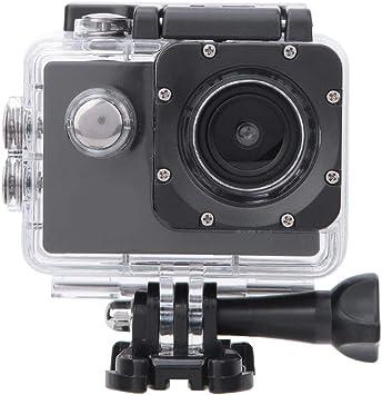Mugast Cámara Deportiva WiFi 1080P 12MP, cámara de acción Impermeable 30M Ángulos Grandes de 140 ° con batería de 900mAh y Kit de Accesorios para ...