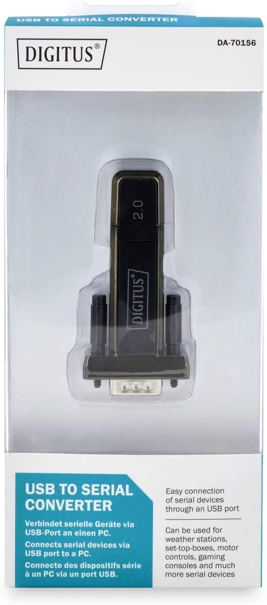 Digitus DA-70156 Adaptateur USB Noir