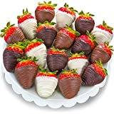 #9: Golden State Fruit 18 Piece Chocolate Covered Strawberries, Berry Bites