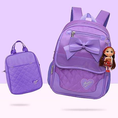 comprar el más nuevo reunirse Mochila con moño para niña, temperamento Dulce princesa Fan ...